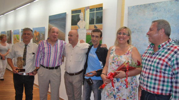 Isla Cristina clausura con una exposición los talleres municipales de artes plásticas