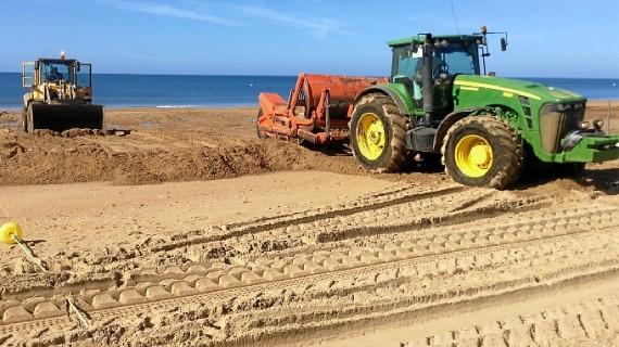 Invierten 10.000 euros en preparar la playa de Islantilla para el verano