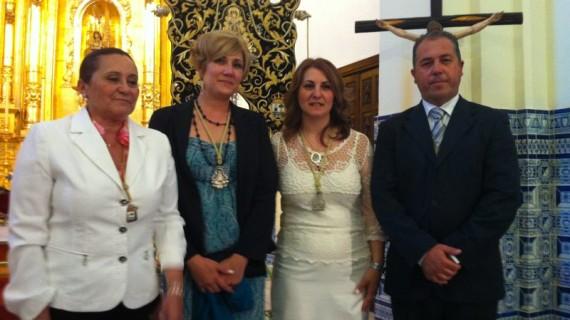 Toma de posesión de las hermanas mayores de la Hermandad del Rocío de Isla Cristina