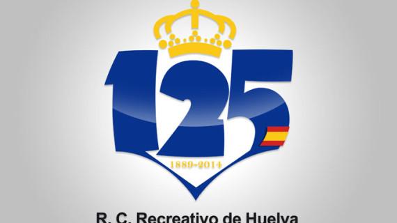 El logo del 125 Aniversario del Recreativo de Huelva se lleva en el corazón