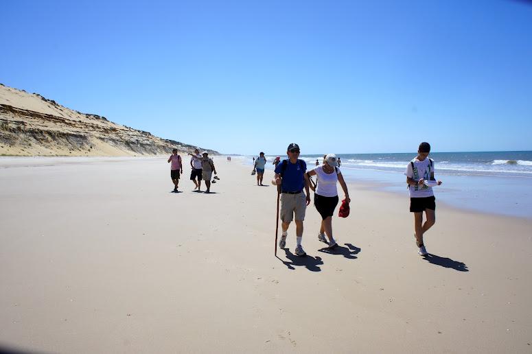 El festival incluye una ruta senderista por el entorno de Doñana. / Foto: cmisdeportes.blogspot.com