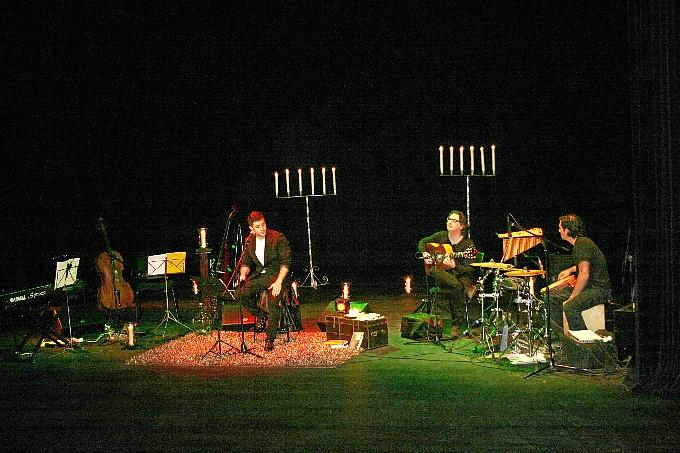 Imagen del espectáculo de Guillermo Cano.