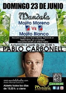 Carbonell actúa en Huelva el 23 de junio.