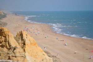 Desde la Playa de Cuesta Maneli, en el Parador de Mazagón, se dará la explicación sobre las estrellas. / Foto: alvproteccioncivilmoguer.blogspot.com.es