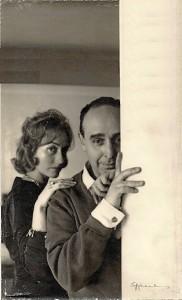 José Caballero y María Fernanda Thomas de Carranza. / Foto: Fundación José Caballero.