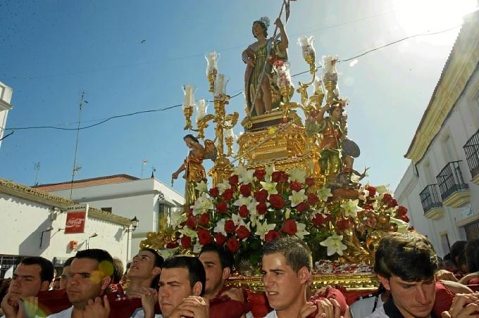 Los próximos días Alosno celebrará a su santo patrón, San Juan Bautista. /Foto:http://www.sanjuanbautistaalosno.com/