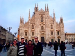 Alejandro confiesa estar viviendo en Milán una de las mejores experiencias de su vida.