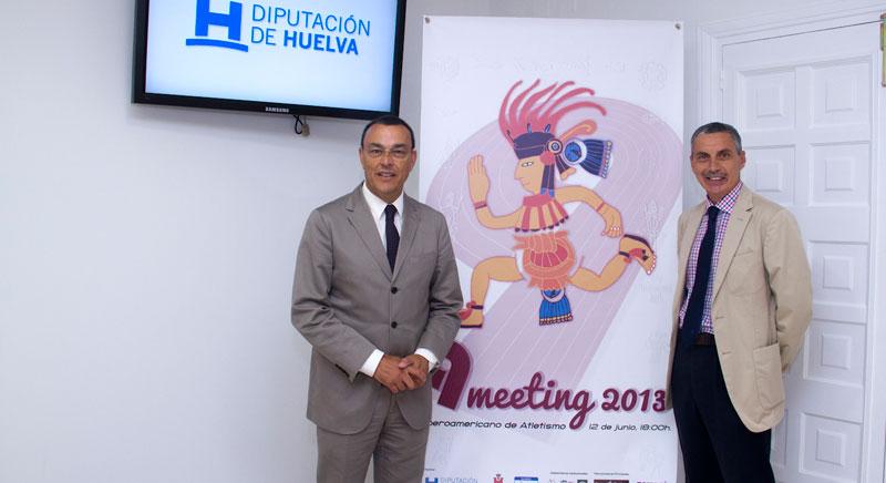 El Meeting Iberoamericano de Atletismo fue presentado en la Diputación.