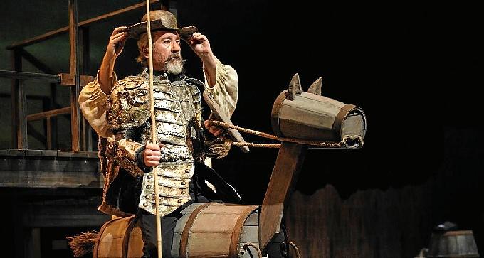 El Quijote, con José Sacristán.