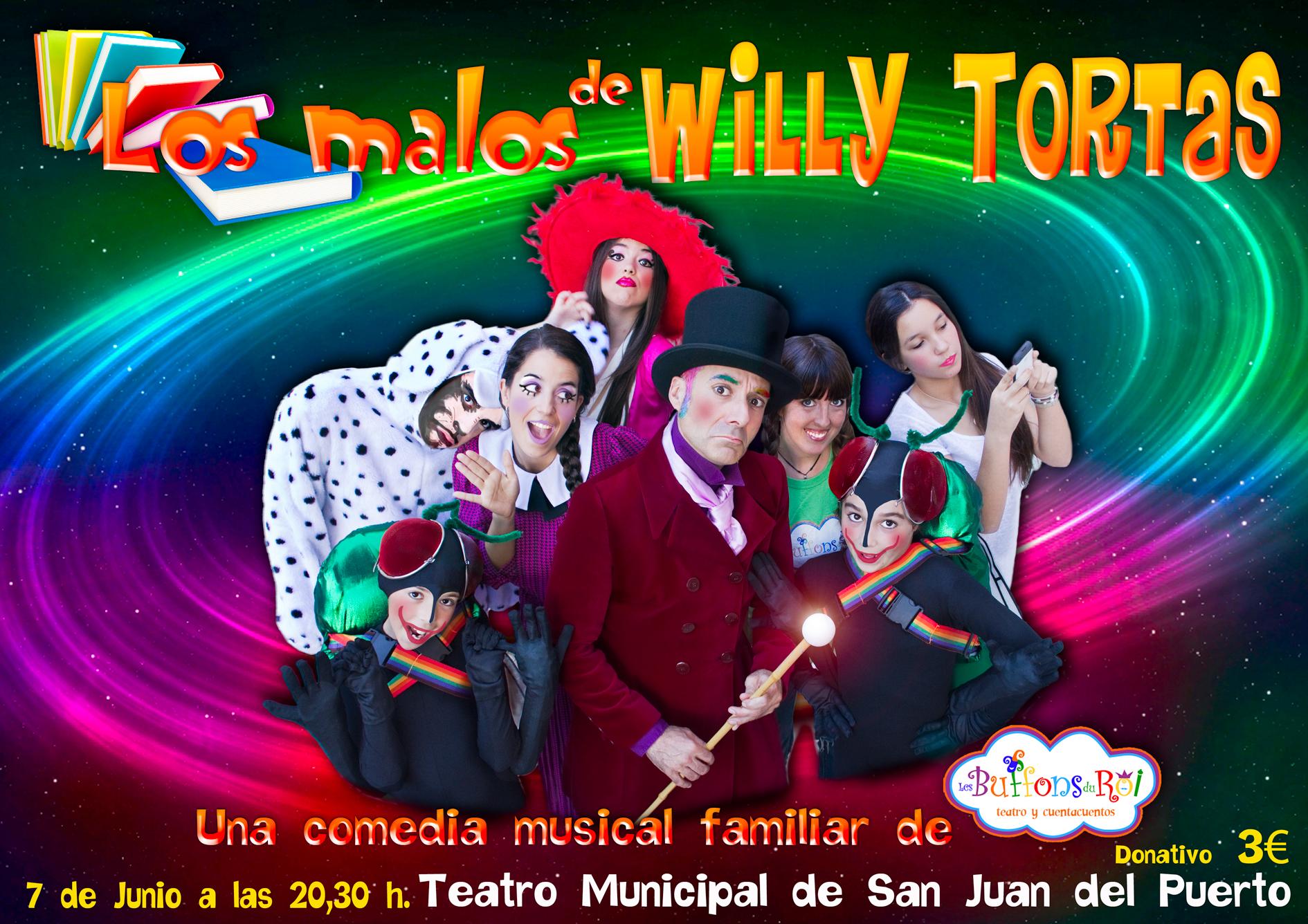 Cartel del espectáculo que podrá verse en San Juan del Puerto.