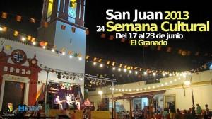Cartel de la Semana Cultural de El Granado.