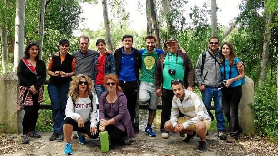 Paisaje y gastronomía fueron los protagonistas del fin de semana en Mazagón