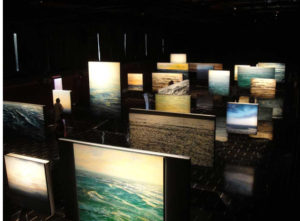 Imagen de la renovada exposición 'Tránsito'. / Foto: Enrique Romero Santana.