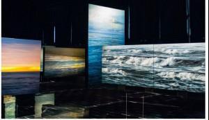 La muestra puede visitarse en la Autoridad Portuaria de Huelva.