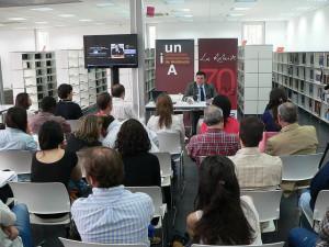 Unas 30 personas acudieron a la Clase Magistral de López Martín.