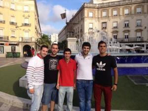 Daniel, David, Jesús Ángel, Mauricio y Javier han conseguido que su idea sea seleccionada.