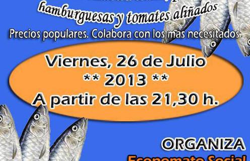 La sardinada benéfica del Economato Social de Ayamonte celebra su segunda edición