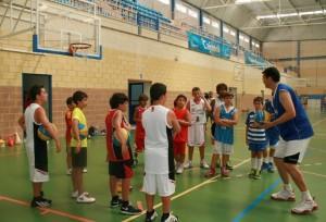 Campus Baloncesto Cajasol en Cartaya