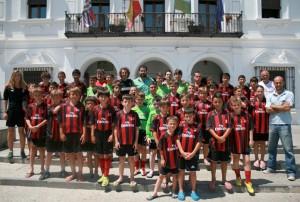 Campus de fútbol Milán en Cartaya