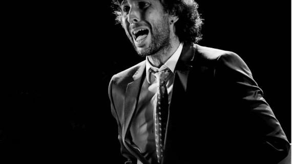 Arcángel participa en la representación de la obra 'El Público' en el Teatro Real de Madrid