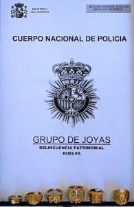 Imagen enviada por la Policía Nacional por el hurto de joyas.