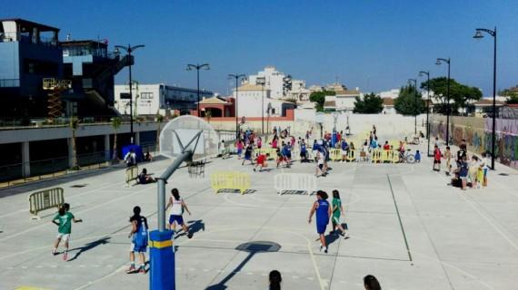 Más de 60 equipos participan en el Islantilla Basket 3×3