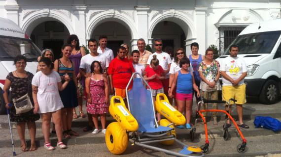 El programa 'Un baño sin barreras de Cruz Roja' llega a Cartaya
