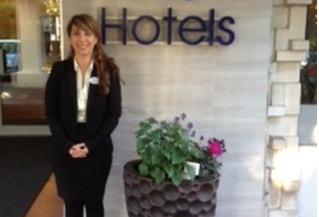 La onubense Blanca Pereira trabaja en un hotel de la costa sur de Inglaterra.