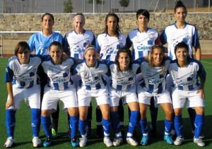 Parte de la plantilla del Sporting Club Huelva