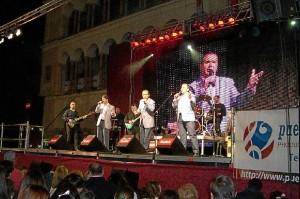 Actuación de Cantares de Huelva.