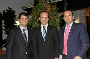 Componentes del grupo Cantares.