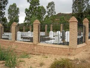 Cementerio de Tharsis tras su restauración.