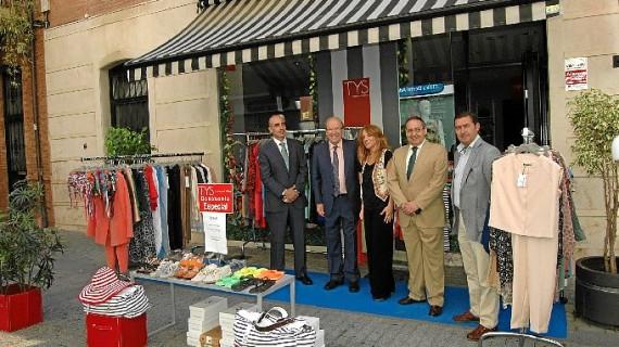 Los comercios del centro de Huelva vuelven a salir a la calle