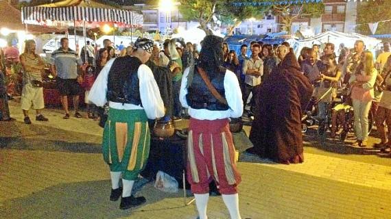 Punta Umbría regresa al siglo XVI a través de su Mercado Marinero