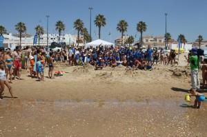 III Concurso Castillos de Arena de la Fundación Cajasol en La Antilla