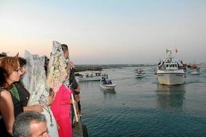 El Carmen está unida al mar y los marineros.