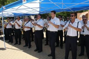 El acto ha contado con la participación de la Banda de Música de Huelva.