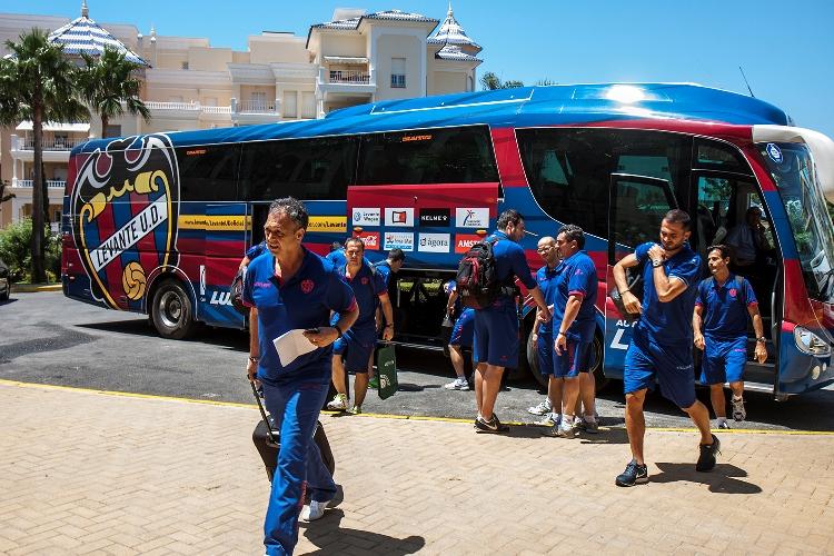 El Levante llega a Isla Canela para su pretemporada