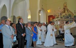 Misa oficial de la Virgen del Carmen en Isla.