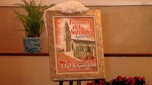 Cartel anunciador de las fiestas de San Salvador.