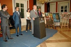 Las fiestas han sido presentadas en un acto en la Casa Colón de Huelva.