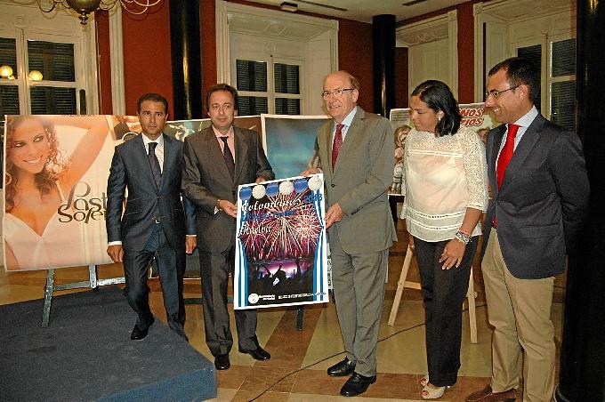 El programa de actos del Ayuntamiento estrena el ciclo de música 'Flamenco y Colombinas'.
