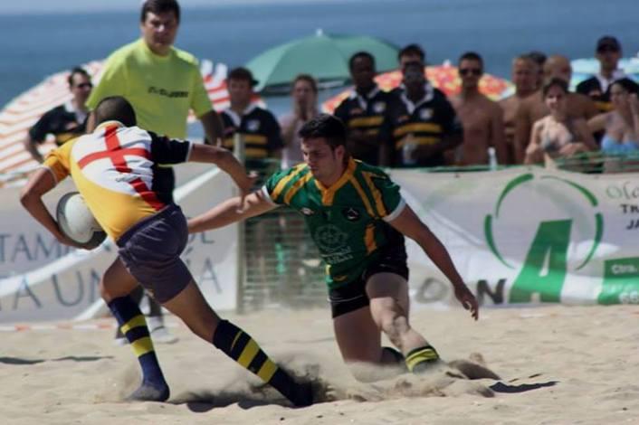 El rugby playa será protagonista de nuevo en Punta Umbría.