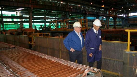 Atlantic Copper da a conocer su proceso tecnológico de transformación del mineral respetando el medio ambiente