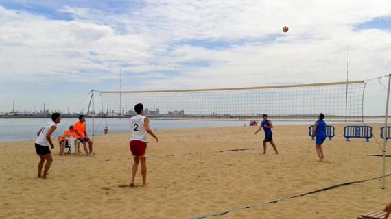 Comienza el Circuito Provincial de Voley Playa