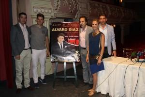 Presentación en la Casa Colón del concierto de Álvaro Díaz el próximo 12 de julio.