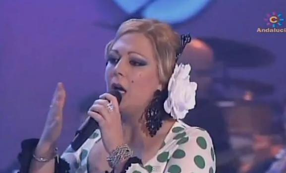 María de los Ángeles Marín en el programa 'Se llama copla'.