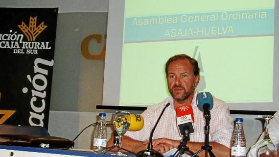 José Luis García-Palacios, reelegido presidente de Asaja-Huelva