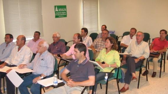 La junta directiva de Asaja-Huelva aprueba la candidatura de José Luis García-Palacios