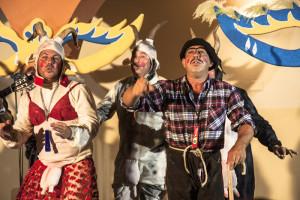'Los más cabritos del Carnaval' hicieron de teloneros.